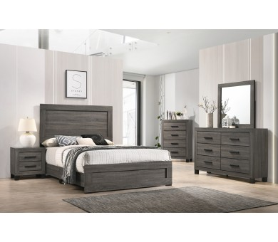 IBC8321A-Distressed Grey (Queen 5-PC)