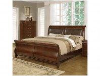 IBC4116A-KBed - Cherry Sleigh (King Bed Only)